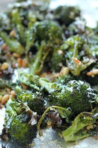 Parmesan Roasted Broccoli | Channeling Contessa