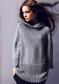 dressnaked: twisted rib detailing on sweater is fantastic