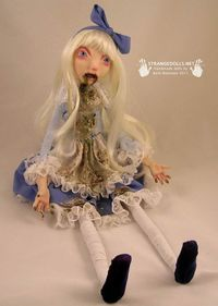 Bulimia doll. I kind of like it cuz it represents to me my past ugly life.