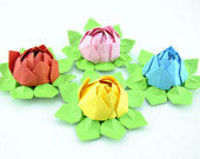 Paper Lotus set of 20, Wedding Decor, Wedding Bouquet, Home Decorations, Event Decorations custom orders welcom