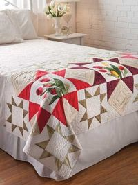 Tulip Bed Runner Pattern
