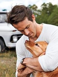 Ryan Reynolds and Baxter