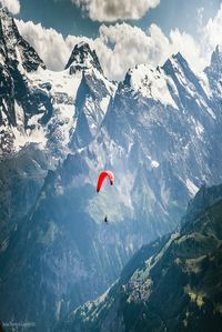 Paragliding in the Dolomites, Italy. I want to do