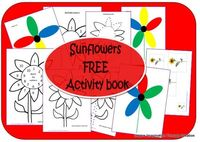Download the free Kids Sunflowers Activities Book from Inspire Imagination through Creation for lots of sunflower learning and activities for kids! B-InspiredMama.com