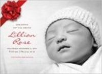 Holiday Birth Announcements | Shutterfly