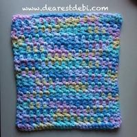 A quick and easy dishcloth. **Free** crochet pattern by DearestDebi
