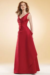 dropped waist gowns