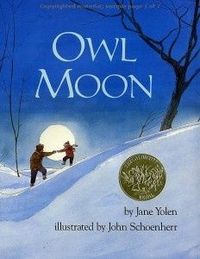 OwlMoon mentor text - writing personal narrative