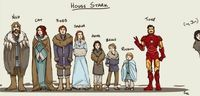 The Expanded House Stark