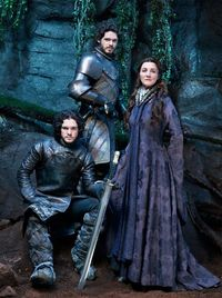 Kit Harington, Richard Madden Michelle Fairley - Game of Thrones portraits by Gavin Bond