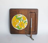 Vintage Cheese Board from Japan. $17