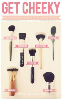 Picking the right face #makeup brush.
