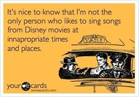 Disney songs!