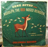 GENE AUTRY 'Rudolph The RedNosed Reindeer' by liveabundantly, $6.00