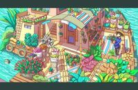 Flower Shop on The Water by Caring201.deviant... on