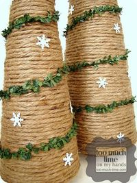 Jute Wrapped Tree DIY from Too Much Time On My Hands 4 copy