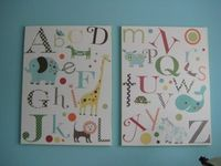 DIY animal alphabet