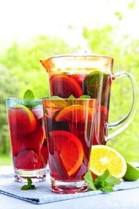 Cool Off with these Summer Punch Recipes from Punchbowl - Click image to find more hot Pinterest pins