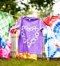 Get Your Groovy On! How to Tie-Dye with Kids: Tie-Dye Basics: Prep (via Parents.com)