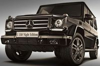Mercedes Benz G550 Night Edition - Japan Only