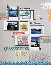 layout by Geralyn Sy featuring our new release with Hero Arts