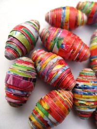 Twisted Planet Beads on Etsy