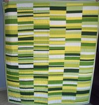 Green Strings Quilt