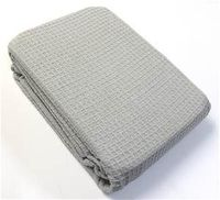 Cheap cotton waffle blankets from Grays Outlet. $35. Good for quilt backing.