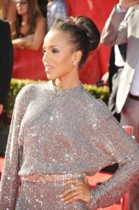 Bad hair day? Sweep it into a sleek high bun like Kerry Washington's. More hairstyle tips here: http://www.esalon.com/blog/look-younger/