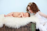 Newborn with Older Sibling