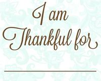 Free thankful printable from measuredbythehear...