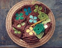 Gorgeous clover squares - must make ... Finn zijn klavertjevier