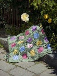 Crochet Flower Field WR1654   Free Patterns   Yarn
