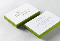 Greenwich Hotel Identity Business Cards Designed by Spencer Paul Bagley
