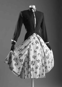 Chanel Dress and Coat with Matching Lining, 1954