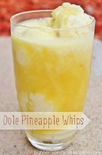 Dole Pineapple Whips from Disneyland
