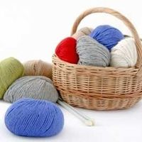 24 Summer Knitting Patterns: The Red, White, and Blue from