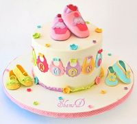 Baby Shower Cupcakes by ~ShamsD~, via Flickr
