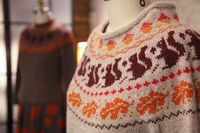 Knit a gorgeous yoked sweater while tackling garment knitting and colorwork in the round. In this class, you will learn to adjust fit, trap stranded colorwork neatly, and customize with colors and patterns as you work on the included pullover sweater patt...