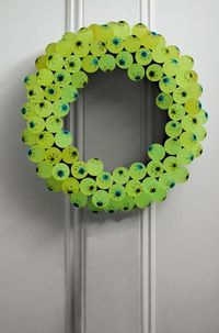 EYEBALL WREATH...excellent