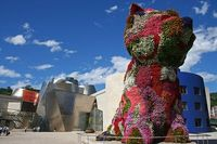 Jeff Koons' 12.5m Puppy installation. Incredible!