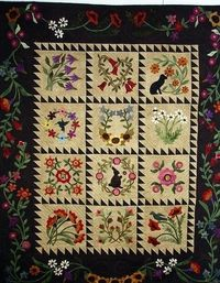 red star quilt..