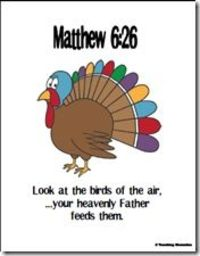 Memory Verse Helps: Matthew 6:26