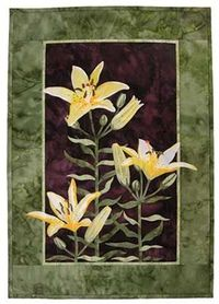 Butter Lily Trinity Wall Quilt