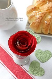 beautiful paper roses