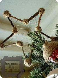 Better Homes and Gardens Tree Topper from Kim at Too Much Time On My Hands 3 copy