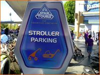 Parking available for regular and hover strollers, too!