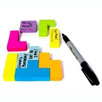 Tetris Block Sticky Notes 2 Pack