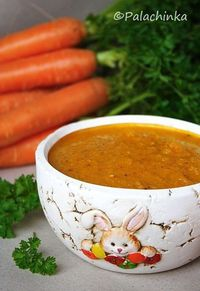 Thick Carrot Soup on http://palachinkablog.com