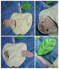 quiet book blanket